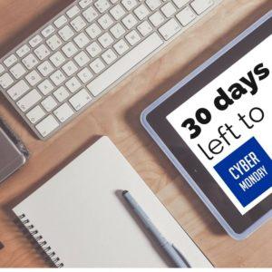 już tylko 30 dni do Cyber Monday 2016!
