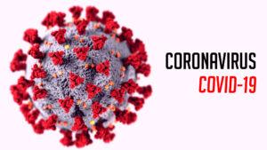 Ilustracja Black Friday 2020 i koronawirus